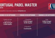 Conoce los horarios del streaming del Portugal Master