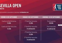 Conoce los horarios del streaming del Sevilla Open