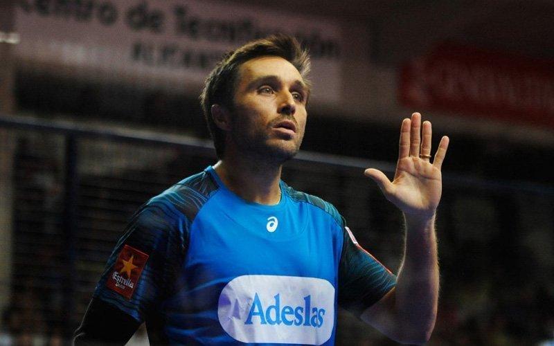 La última pillería de Fernando Belasteguín en el Alicante Open