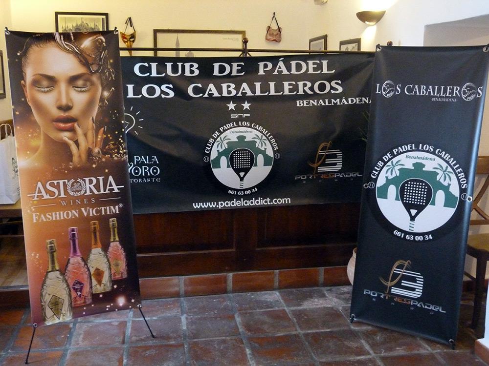 Presentación equipación del Club de Pádel Los Caballeros