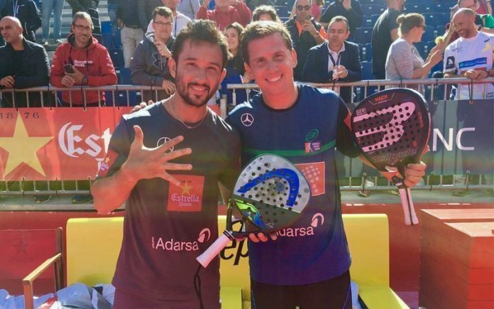 Paquito Navarro y Sanyo Gutiérrez se llevan la final masculina del Andorra Open
