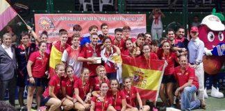 España consigue el doblete en el XI Campeonato del Mundo de Menores