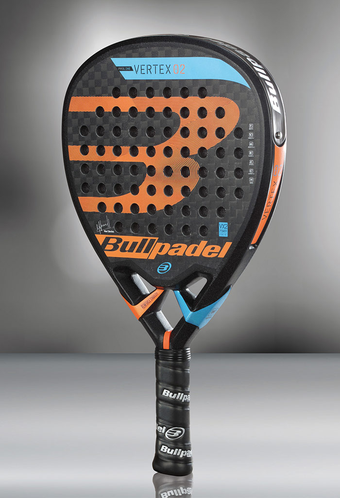 impaciente Diez años manual  ▷ Bullpadel presents the new Vertex-2, the Maxi Sánchez shovel