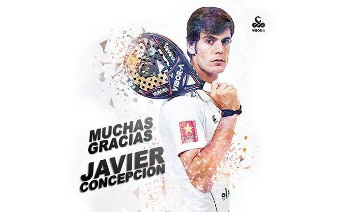 Javier Concepción anuncia su retirada del pádel profesional