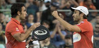 Las dos mejores parejas arrollan en las semifinales del Buenos Aires Padel Master