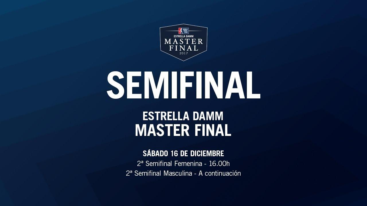 ¡Ya puedes seguir la primera jornada de los cuartos de final del Estrella Damm Master Final en directo!