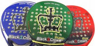 Puma, Fox y Dark: tres palas Black Crown de alto rendimiento