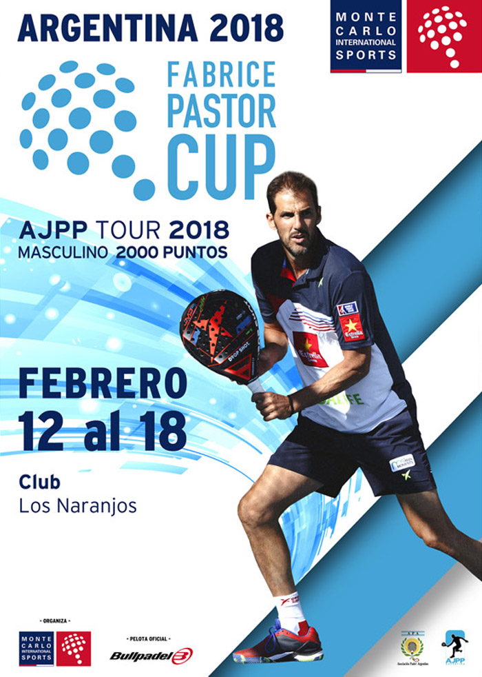 Fabrice Pastor Cup Argentina 2018