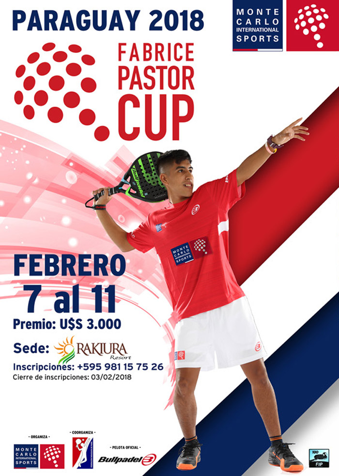 Fabrice Pastor Cup Paraguay 2018