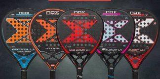 Conoce las 5 palas de pádel que componen la serie Luxury de Nox