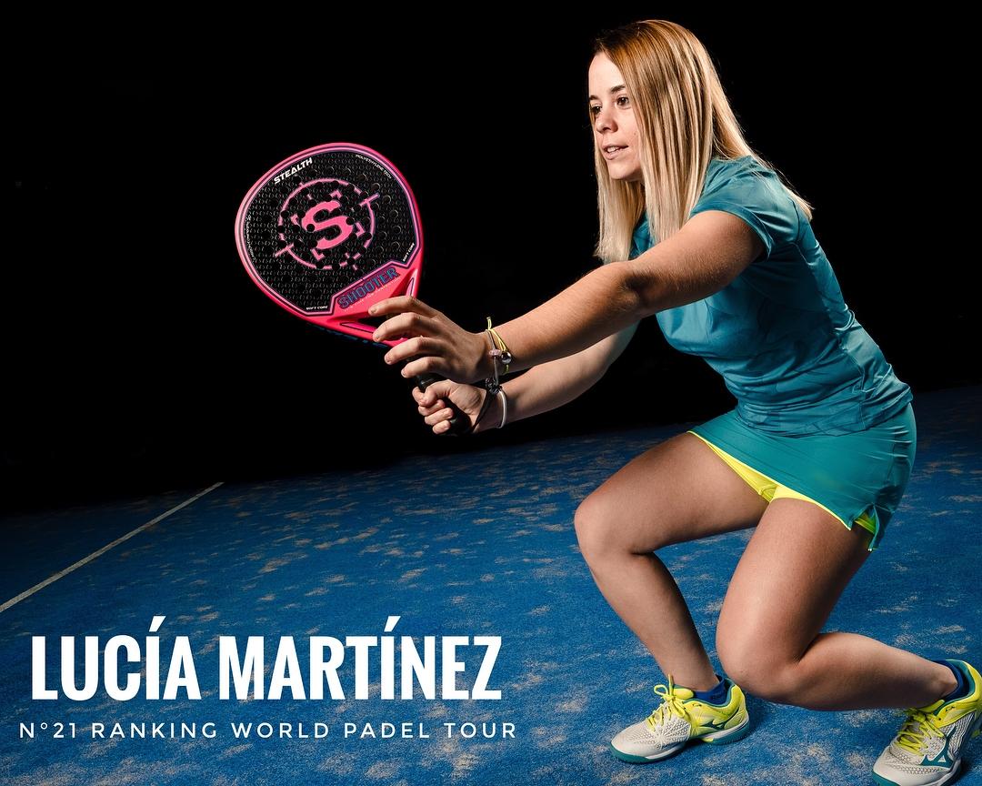 Lucía Martínez ficha por Shooter Padel