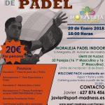 Torneo de pádel en Moraleja Padel Indoor