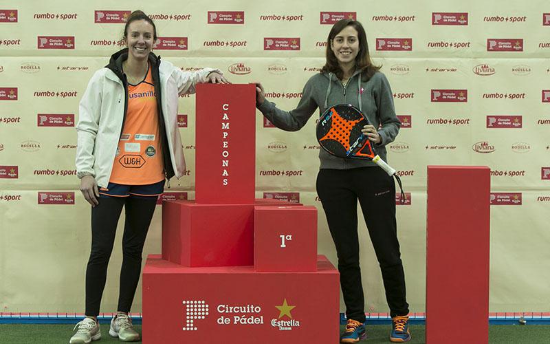 Carla Mesa y Marta Talaván se llevaron la final femenina federada de la primera prueba del Circuito de Pádel Estrella Damm 2018