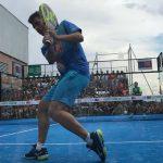 Lucas Bergamini en un lance de la final de la Fabrice Pastor Cup Brasil