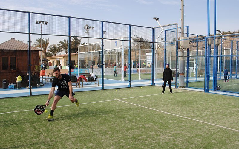 Nido bisonte espejo de puerta  Learn about the situation of padel in Egypt, by Amir El Samahy