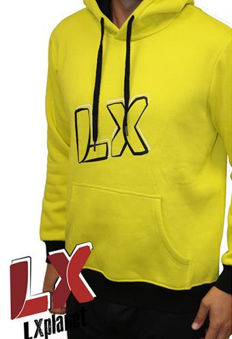 Sudadera amarilla LX Planet Team