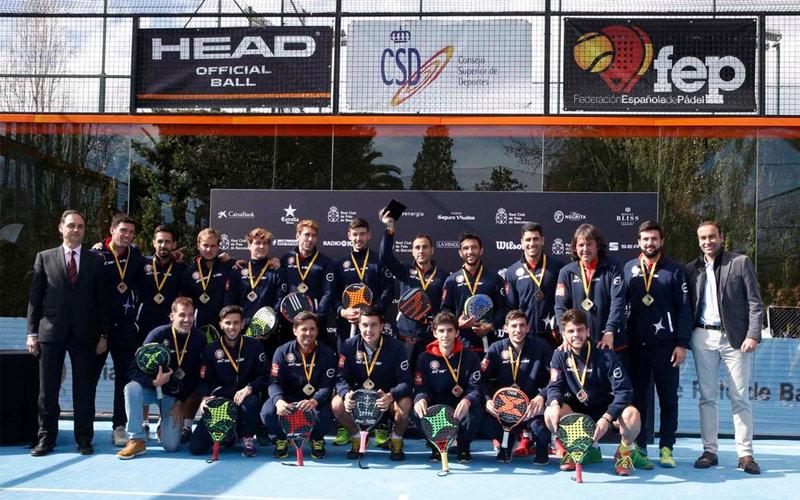 El CD Damm StarVie repite título en el XXXIV Campeonato de España de Pádel por Equipos