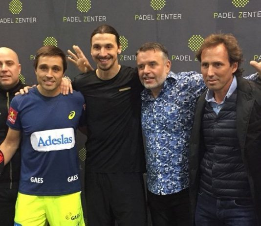 PadelZenter inaugura sus instalaciones en Suecia repleto de celebridades