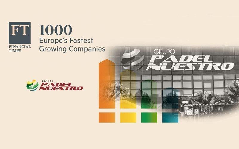 Padel Nuestro, entre las empresas que más rápido crecen en Europa