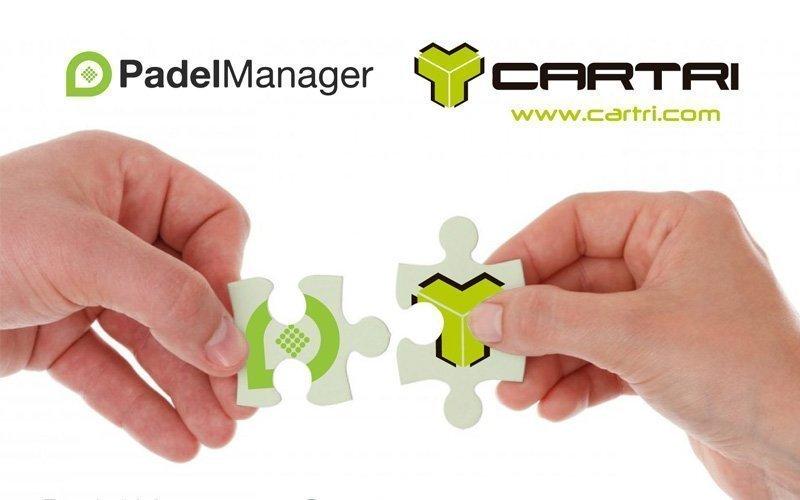 Cartri y Padel Manager, una alianza en Portugal