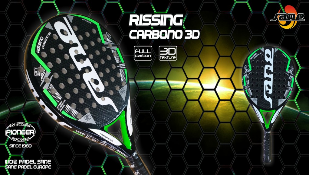 Análisis de la pala de pádel SANE Rissing Carbono 3D