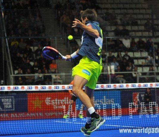 Fantástico punto de Belasteguín en la final del Alicante Open