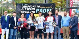 Josete Rico - Víctor Ruiz y Magüi Serna - Mari Carmen Díaz, ganadores del Campeonato Absoluto de España