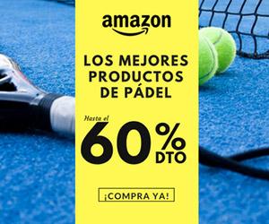 Las mejores ofertas de pádel en Amazon.es