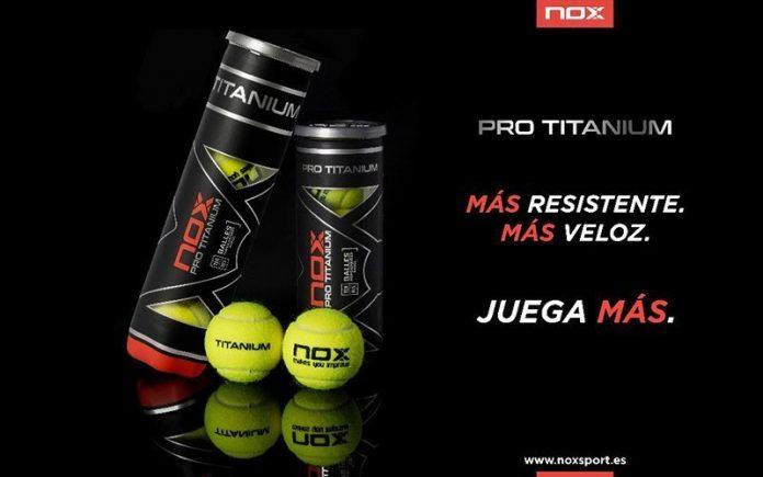 Nox lanza sus nuevas pelotas de pádel: las Pro Titanium