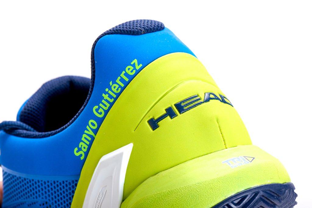 Nuevas zapatillas de Sanyo Gutiérrez