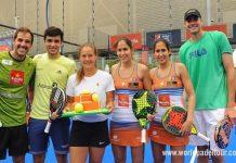 El pádel sigue teniendo presencia en el Mutua Madrid Open de tenis