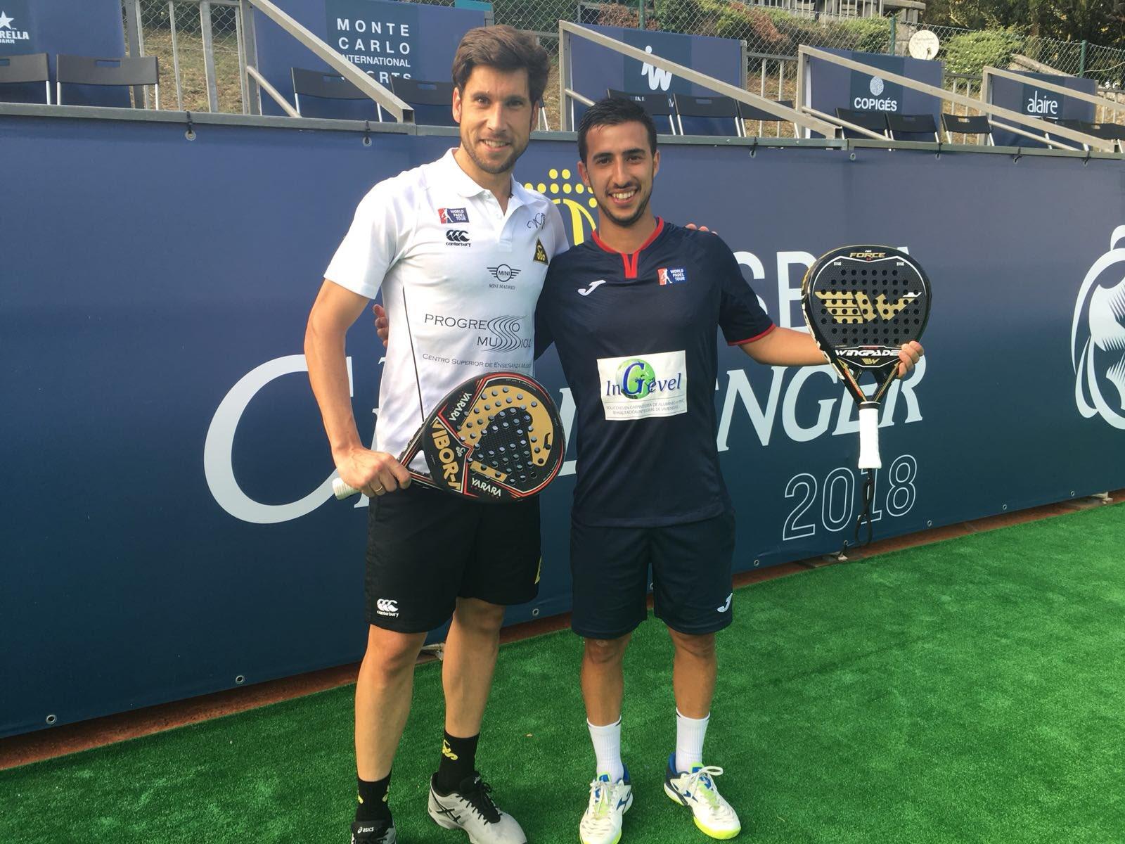Álvaro Cepero y Nacho Gadea en los cuartos del Lisboa Challenger