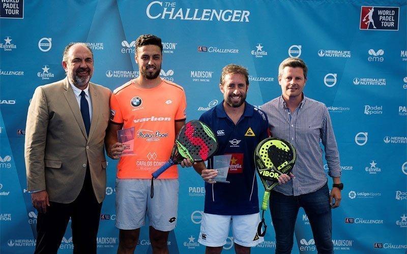 Pablo Lijó y Maxi Grabiel, ganadores del Madrid Challenger