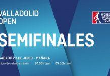 Sigue desde las 10:00 el streaming de las semifinales del Valladolid Open