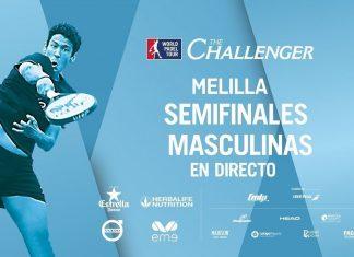Sigue en directo el streaming de las semifinales del Melilla Challenger