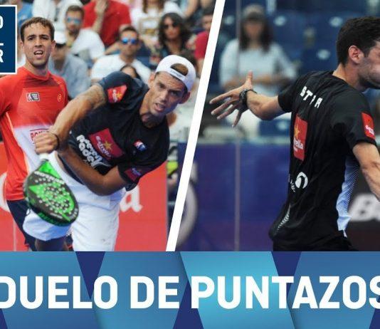 Moyano y Capra frente a Gutiérrez y Stupaczuk, un partido de puntazos en el Jaén Open
