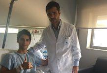 Matías Marina pasa por quirofano y se perderá las próximas pruebas