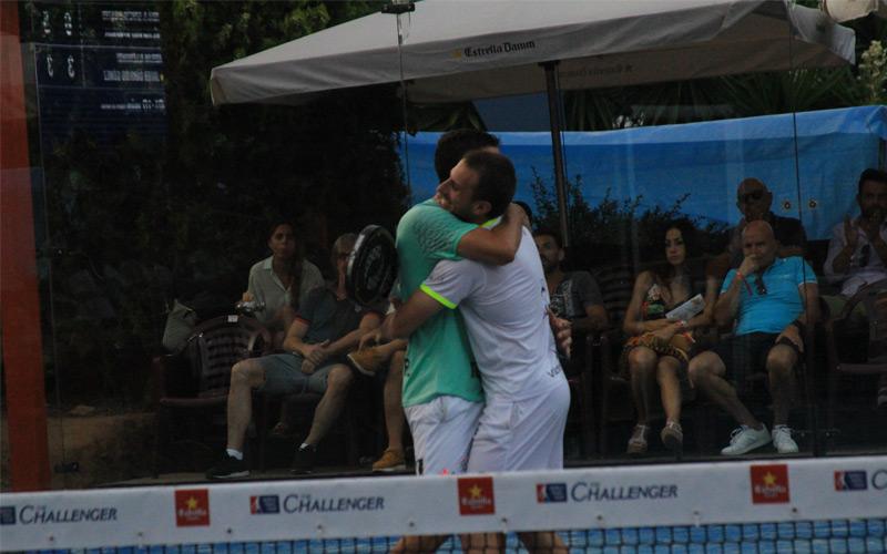 José Antonio García Diestro y Víctor Ruíz se proclamaron ganadores del Cabrera del Mar Challenger