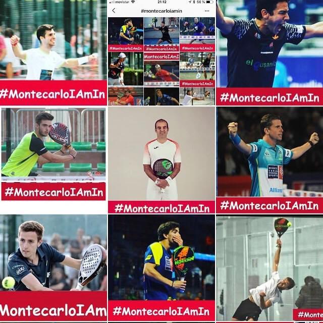 Giocatori di Monte Carlo International Sports che hanno già mostrato il loro supporto per il nuovo circuito