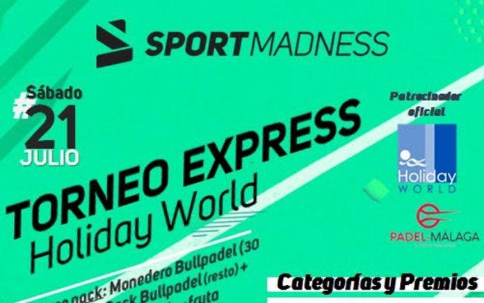 ¡Apúntate ya al I Torneo express de padel Sportmadness en Málaga!