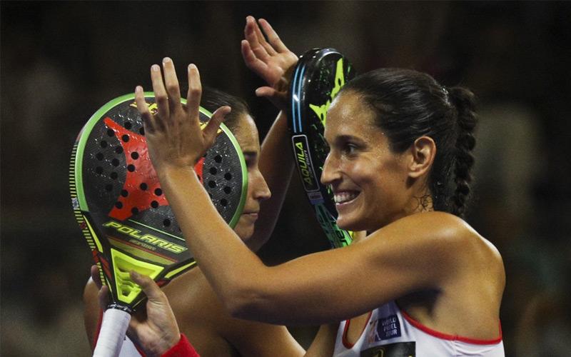 Majo y Mapi terminan el año por delante de Marta Marrero y Alejandra Salazar