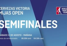 Sigue ya en directo el streaming de las semifinales del Mijas Open
