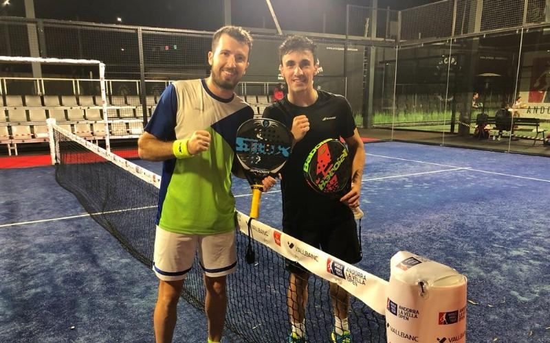 Lucas Cunha y Denis Perino acceden al cuadro final del Andorra Open
