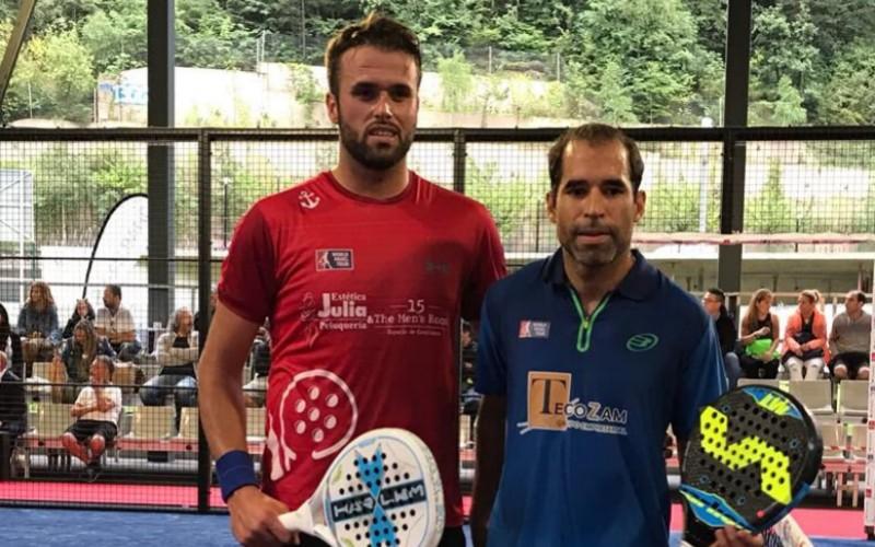 Rafa Méndez y Diego Ramos acceden al cuadro final del Andorra Open