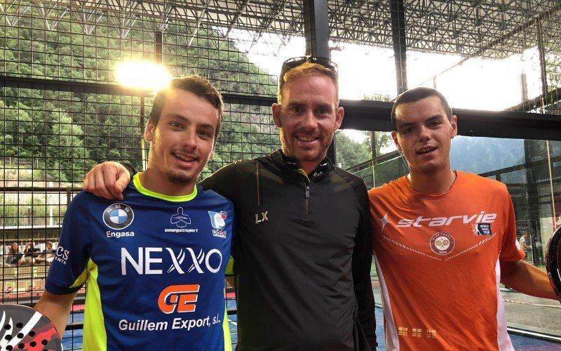 Javier Rico y Jorge Nieto se clasifican de la previa del Andorra Open