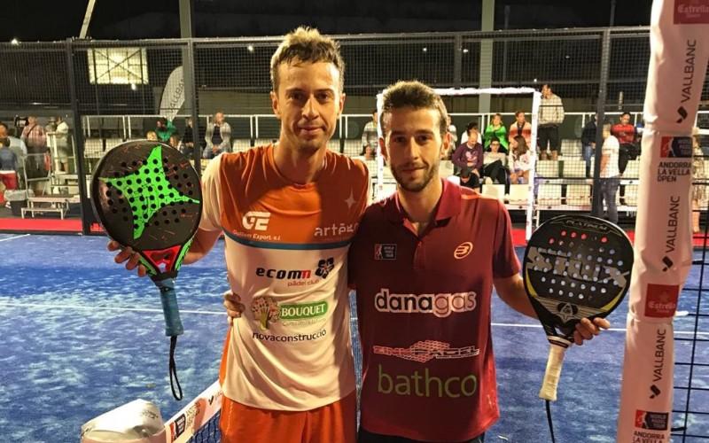 Miki Solbes y Jorge Ruiz acceden al cuadro final del Andorra Open
