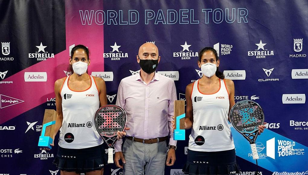 ¿Cómo se reparten los premios en metálico del World Padel Tour 2021 en chicas?