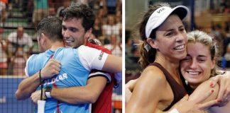 Galán - Díaz y Marrero - Salazar se proclaman ganadores del Lugo Open