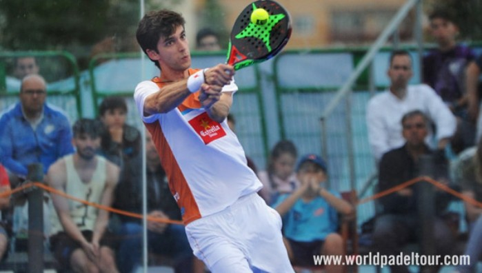 Maty Marina sufrió una inoportuna lesión durante el Jaén Open