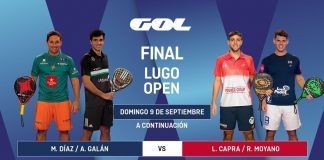 Sigue en directo el streaming de la final del Lugo Open